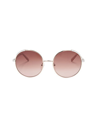 Eria Round Metal Sunglasses