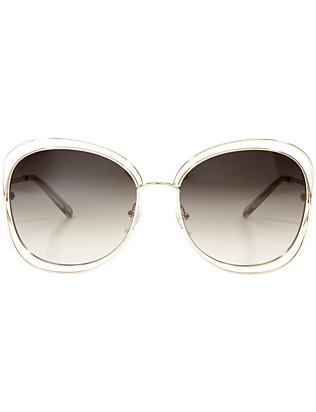 Chloe Carlina Square Sunglasses