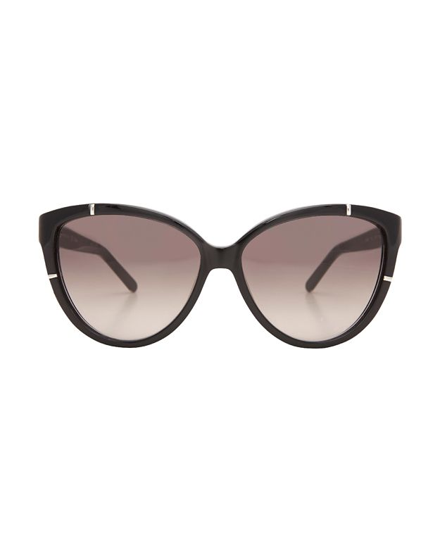 Chloé Black Cat Eye Sunglasses