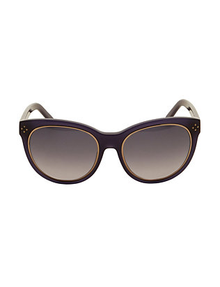 Chloe Metal Ring Cat Eye Sunglasses