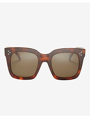 Celine Two Tone Wayfarer Sunglasses