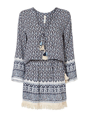 coolchange Chloe Fringed Tunic