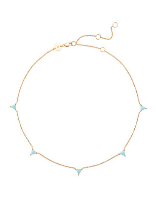 Christiann Turquoise Station Necklace