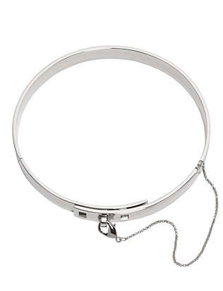 Safety Chain Choker: Silver