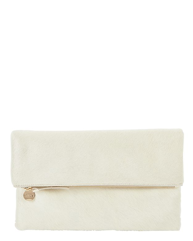 Clare V. Supreme Haircalf Clutch