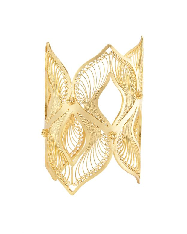 Mallarino Claudia Gold Work Cuff
