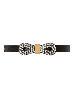 Strass Crystal Bow Belt