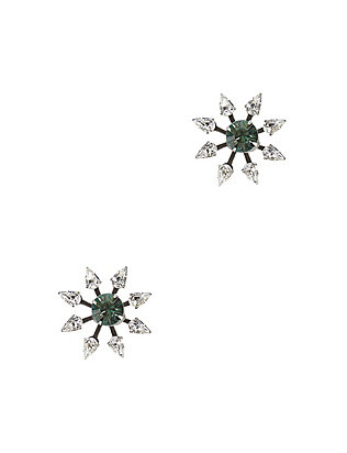 Dannijo Constantina Crystal Starburst Earrings