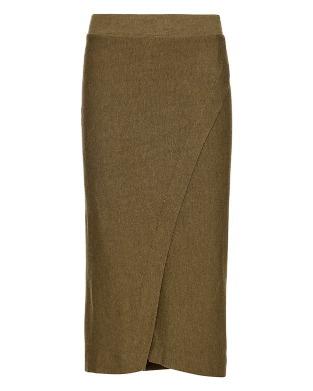 Enza Costa EXCLUSIVE Wrap Midi Skirt