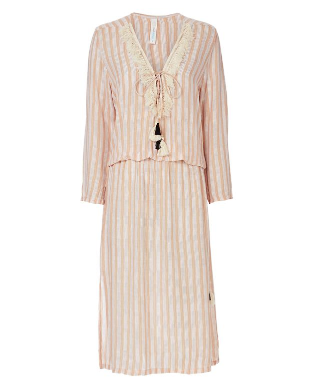 coolchange Chloe Striped Maxi Dress