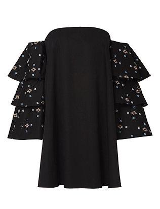 Carmen Embroidery Dress