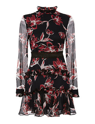 Nicholas Floral Print Dress