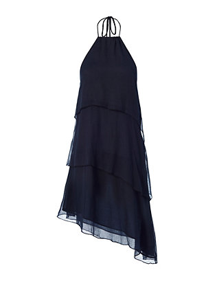 Love Sam EXCLUSIVE Tiered Mini Dress: Navy