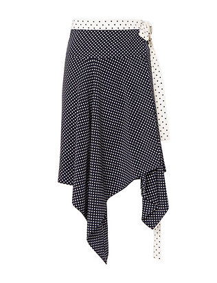 Alexis Danica Dot Wrap Skirt