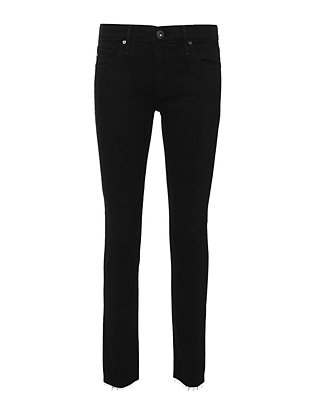 AG Super Skinny Ankle Legging Black Jeans