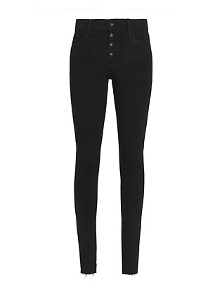 Farrah Button Fly Skinny Jeans