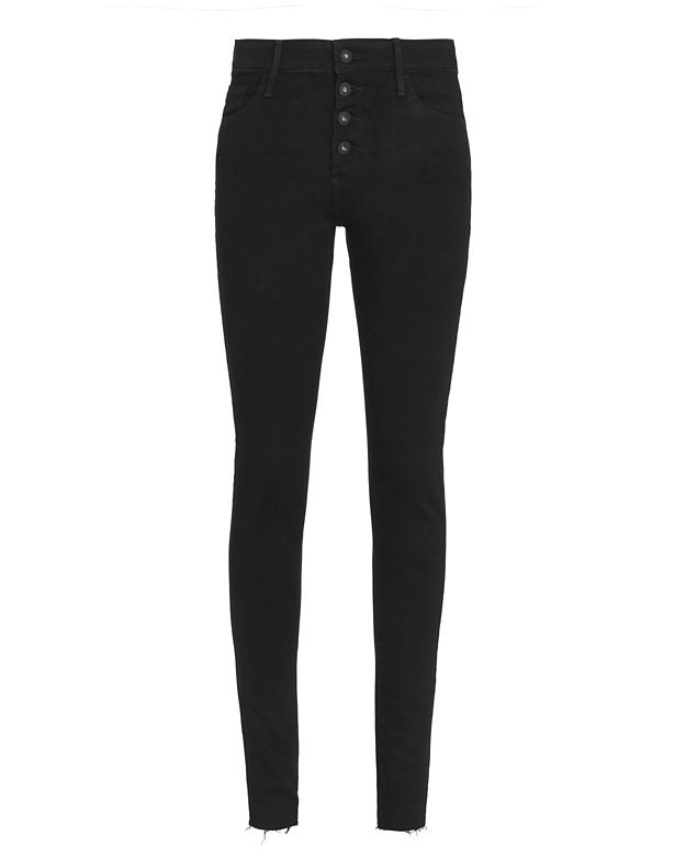 AG Farrah Button Fly Skinny Jeans