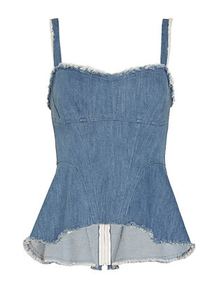 Exclusive for Intermix Alvan Denim Top