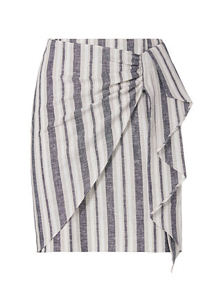 Exclusive for Intermix Uma Striped Skirt