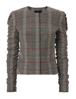 Exclusive for Intermix Kiara Plaid Jacket
