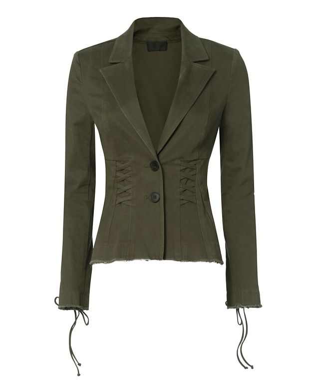 Exclusive for Intermix Luke Lace-Up Blazer