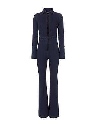 Exclusive for Intermix Kate Denim Jumpsuit