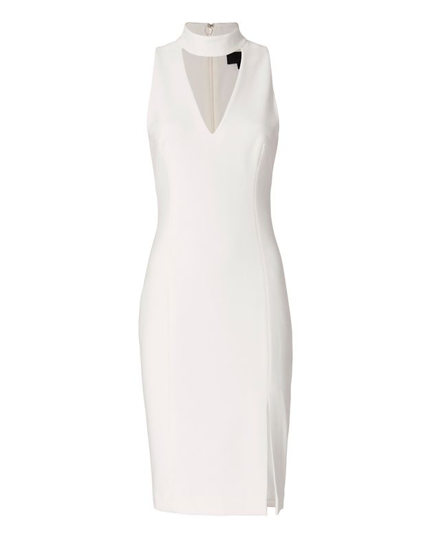 Exclusive for Intermix Vika Mock Neck Dress