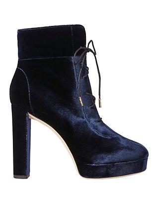 Deon Velvet Ankle Boots