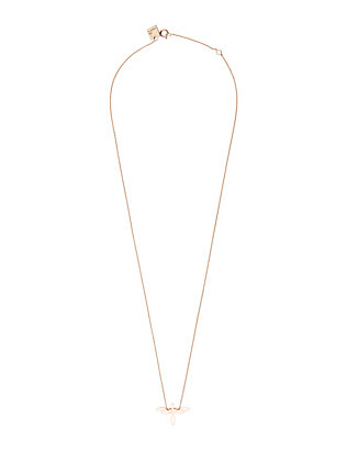 Ginette NY Mini Dragonfly Charm Necklace