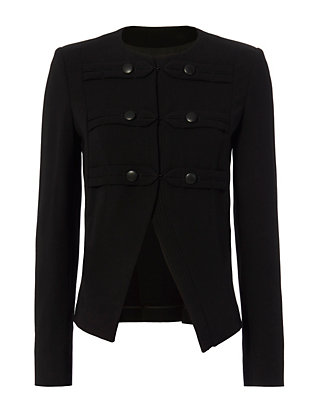 Derek Lam Slit Military Jacket