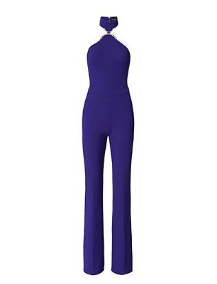 Cady Jumpsuit: Blue