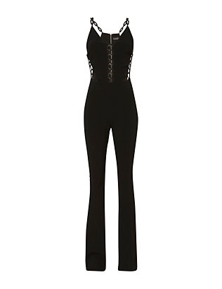 David Koma Chain Link Jumpsuit