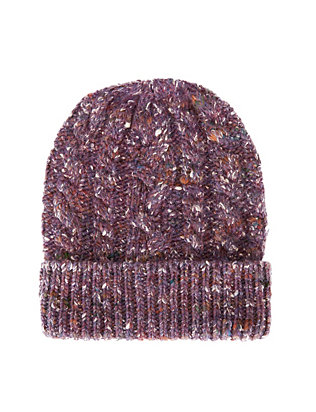 Exclusive for Intermix Flecked Yarn Knit Beanie