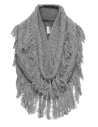 Exclusive for Intermix Fringe Snood