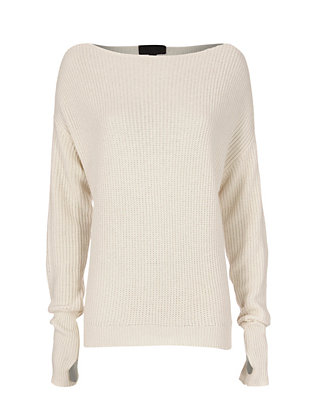Exclusive for Intermix Oversized Off-The-Shoulder Sweater