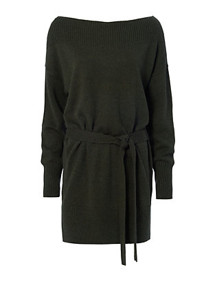 Bella Easy Belt Sweater Dress