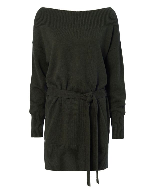 Exclusive for Intermix Bella Easy Belt Sweater Dress