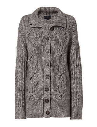 Exclusive for Intermix Carlyle Cable Knit Cardi