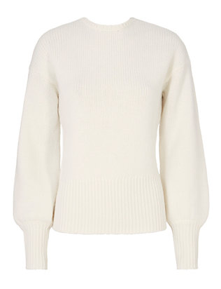 Exclusive for Intermix Teddy Open Back Blouson Sleeve Knit