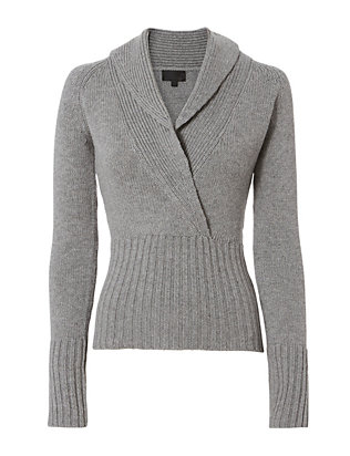 Exclusive for Intermix Amy Shawl Collar Knit