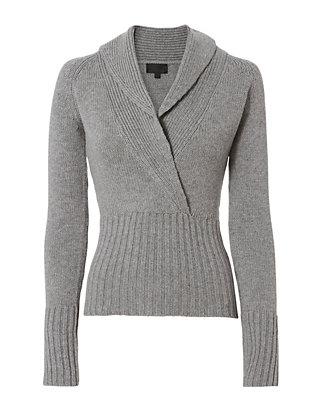 Amy Shawl Collar Sweater