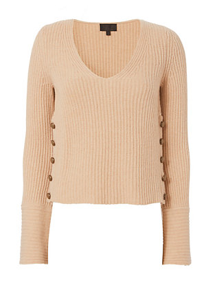 Exclusive for Intermix Hayley Bell Sleeve V Neck