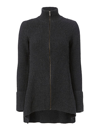 Exclusive for Intermix Gina Zip-Up Cardigan