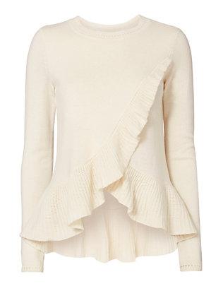 Carey Ruffle Sweater