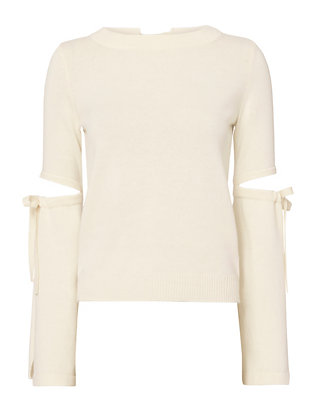 Exclusive for Intermix Brit Slit Sleeve Knit