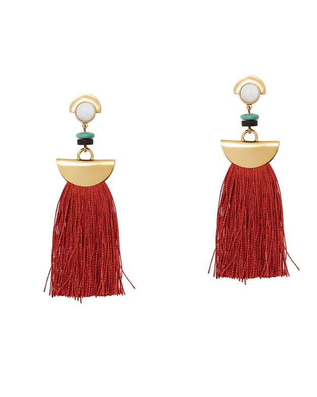Lizzie Fortunato Mount Sage Earrings