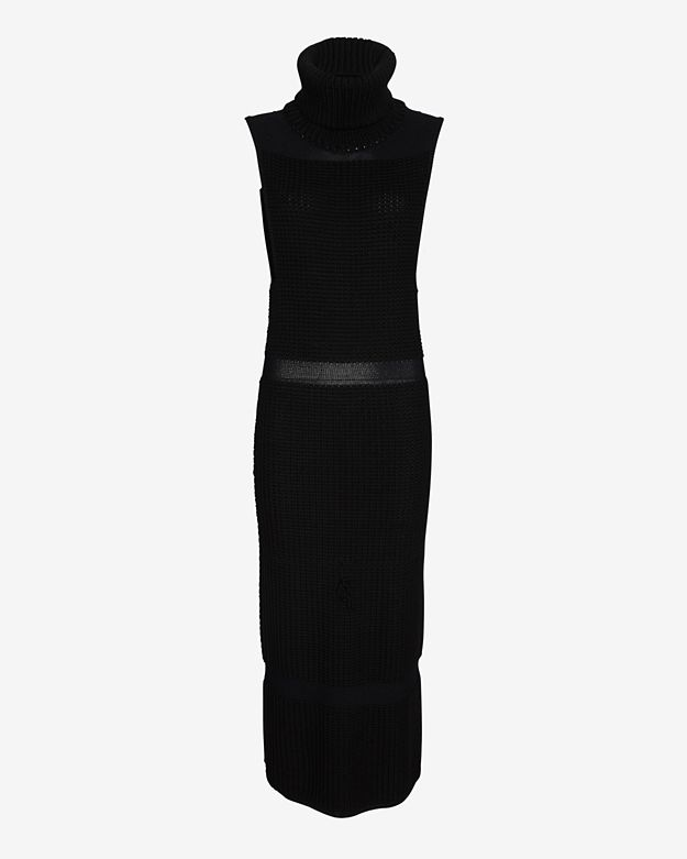 exclusive  helmut-lang-exclusive-textured-inlay-sweater-dress by helmut-lang