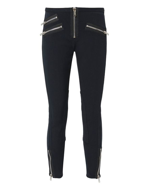 3.1 Phillip Lim Zipper Moto Leggings
