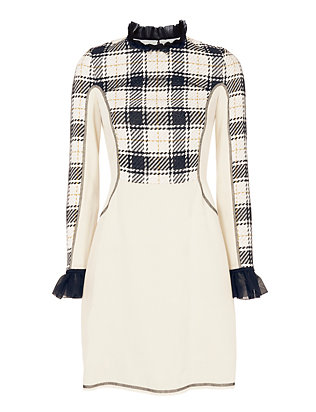 3.1 Phillip Lim Surf Plaid Dress