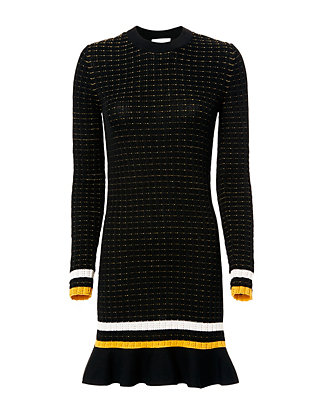 3.1 Phillip Lim Smocked Knit Dress